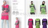 Sarra SMW 1200 Muslimah Muslimah Cotton- Ready Made Uniform Ready Made