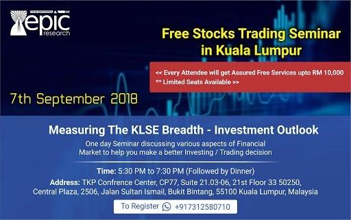 Free Stocks Trading Seminar in Malaysia (Kuala Lumpur) September 2018 Year 2018 Past Listing