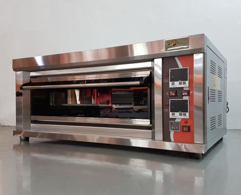 Gas Oven BYRFL-12 1-Layer 2Dish ID006000