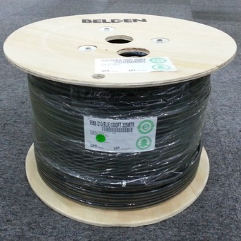 Coaxial cable 9066 18AWG RG6  Belden ELV CABLE / ICT CABLE
