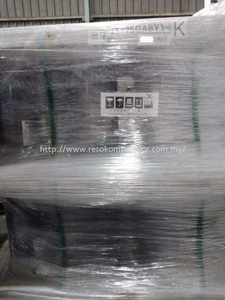ARRIVAL OF DAIKIN SCROLL COMPRESSOR MODEL JT125GABY1