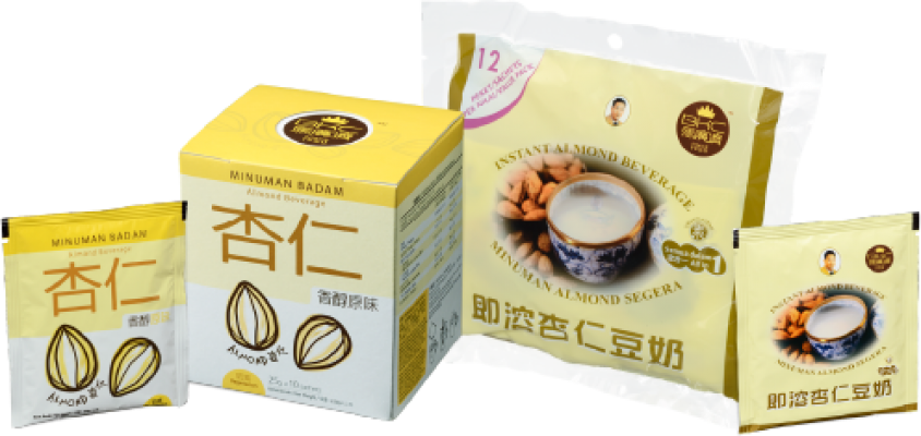 3-in-1 Instant Pre-Packed Premix Apricot Kernels Powder