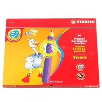 Stabilo 1879J Jumbo Color Pencil 24L
