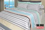 HA368 Full Cotton Printing Bed Sheet (HA) Bed Linen