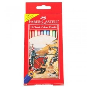 Faber-Castell Classic Colouring Pencil 12L
