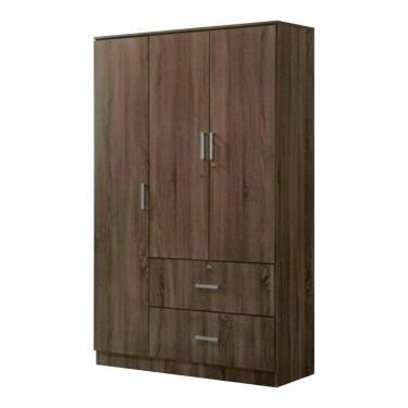 3 DOORS WARDROBE WITH DRAWER (WD SA985)