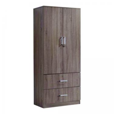 2 DOORS WARDROBE WITH DRAWER (WD SA916)