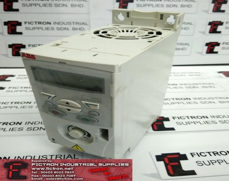ACS150-01E-06A7-2 ACS15001E06A72 ABB 1.1kW Inverter Drive REPAIR IN MALAYSIA 1-YEAR WARRANTY ABB Repair Services