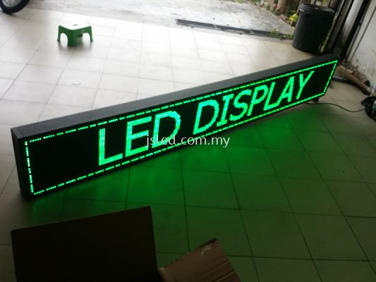Green (7ft x 1ft) LED Display