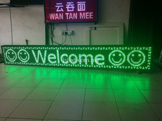 Green (8ft x 1ft) LED Display