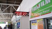 LED Display with Date and Clock Single Color LED Display