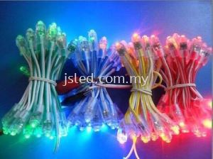 LED Pixel Single Color 9mm (Bullet LED)