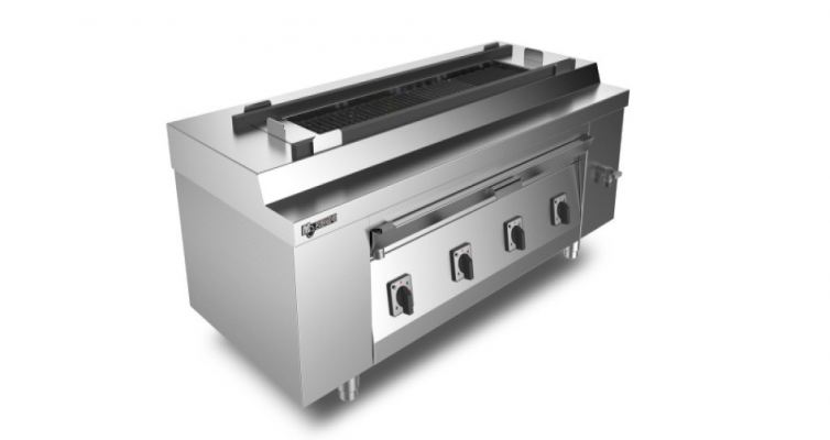 Hightemp Smokeless Electric BBQ ZK4-D14A