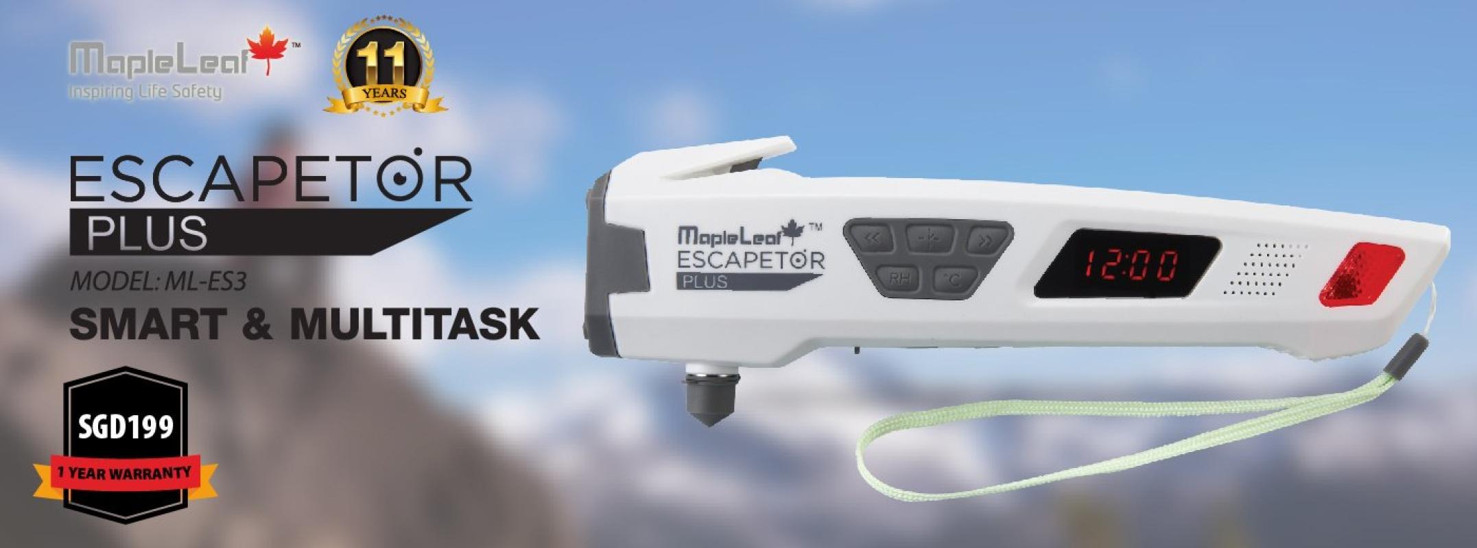 Escapetor Plus Escapetor Plus Singapore, Selangor, Malaysia, Kuala Lumpur (KL), Petaling Jaya (PJ) Supplier, Suppliers, Supply, Supplies | MapleLeaf