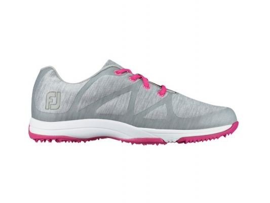 FJ Leisure #92903 Lt Grey Space Dye Womens Golf Shoes