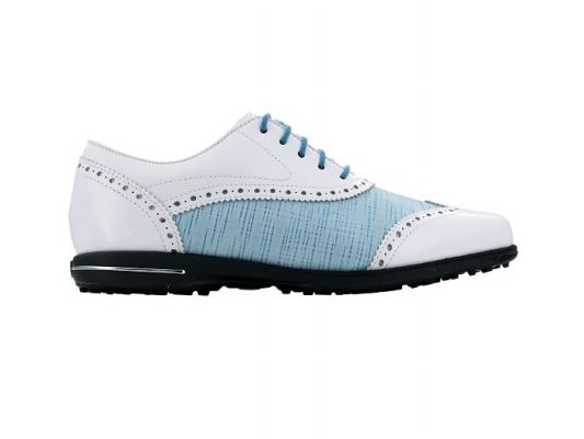 Tailored Collection #91687 Blue Linen Womens Golf Shoes