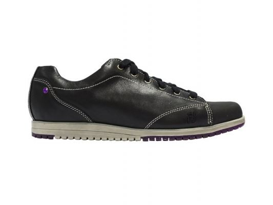 Casual Collection #97713 Nero + Black Women Golf Shoes