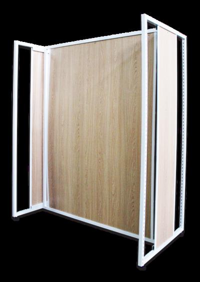 120301 - Island Frame w Back/P 150Hx120Lx68Dcm (Start)