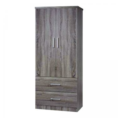 2 1/2' 2 DOORS WARDROBE (WD SU932-SD)