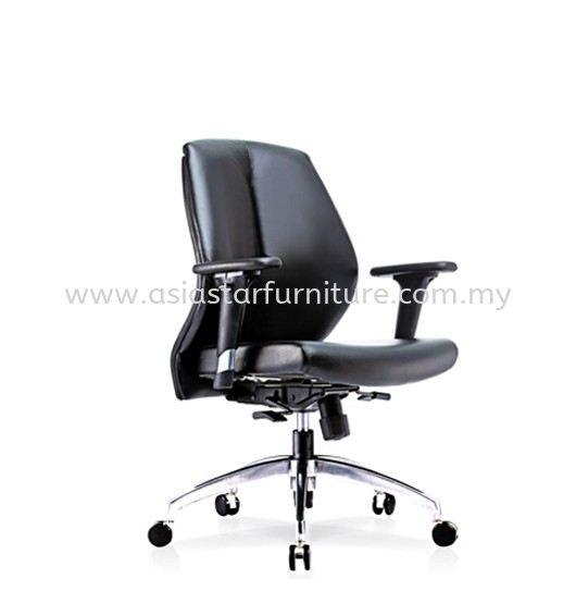 SENSE 2 LOW BACK CHAIR WITH ALUMINIUM ROCKET DIE-CAST BASE LB-C 05
