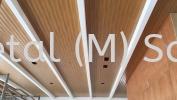 ECO SPRING CLUB HOUSE @ JB Aluminium Strip Ceiling