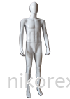 13447-M11 Male Mannequin (White) Male Abstract Mannequin MANNEQUIN