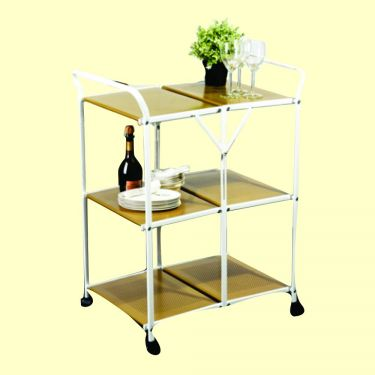 ELIAS 3-TIER FOLDABLE TROLLEY (MX CC2490)