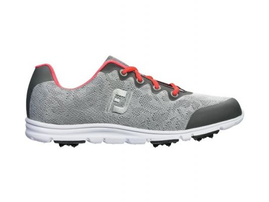 enJoy™ Style 1 #95703 Grey + Pink Womens Golf Shoes
