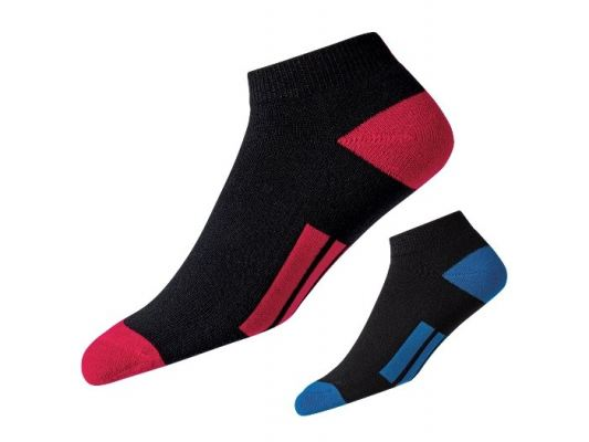 ProDry Fashion Sport Socks Model 16731f Black/ Red  and Black/ Cobalt