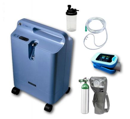 Philips Oxygen Concentrator - Everflo (package offer)