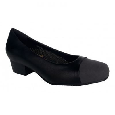 MF173-6 Black Medifeet Fairlady shoe (RM249)