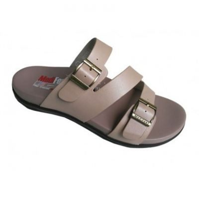 MO119-2 Pearl Pink Medifeet Orthotic Sandals Women (RM219)
