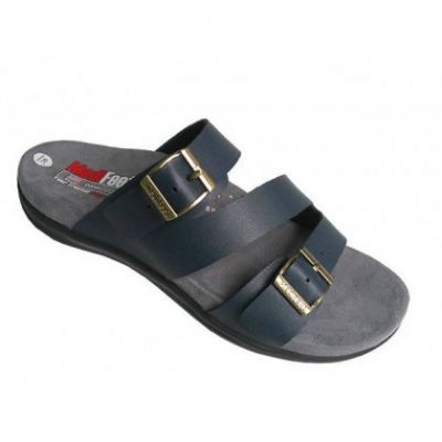 MO119-9 Dark Blue Medifeet Orthotic Sandals Women (RM219)