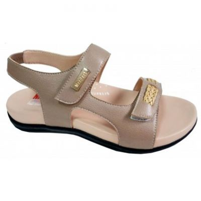 MO069-2 Beige Medifeet Orthotic Sandals Women (RM229)
