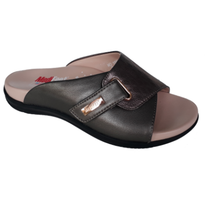 MO158-3 Grey Medifeet Orthotic Sandals Women(RM229)