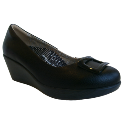 SM1003-6 Black Saramax Women Shoe