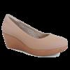 SM106-3 Beige Saramax Women Shoe  (RM269) Saramax Health & Comfy Shoe