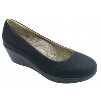 SM106-6 Black Saramax Women Shoe