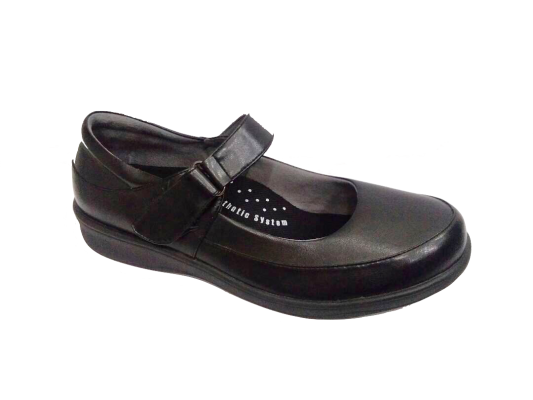 MP123-6 Black Professional Uniform Shoe