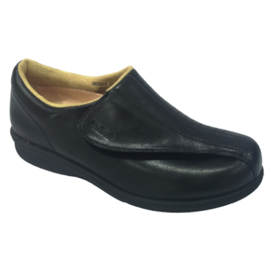 M054-6 Black Medical Grade Footwear Post-diabetic (RM289)