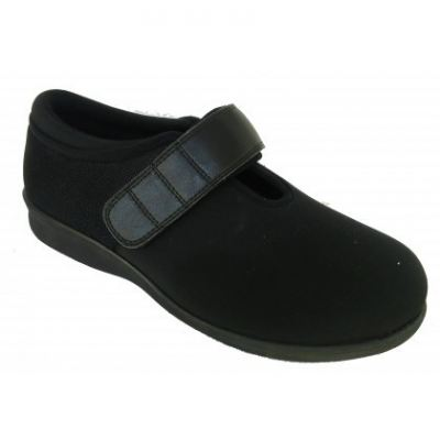 M064-6 Black Medical Grade Footwear Therapeutic(RM289)