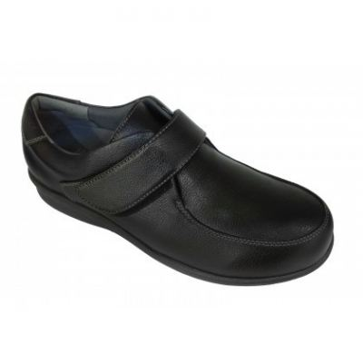M096-6 Black Medical Grade Footwear Therapeutic