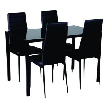 KIEL ANN 1 + 4 DINING SET