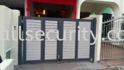 ALUMINIUM TRACKLESS FOLDING GATE Aluminium Gate - i-SmartGate