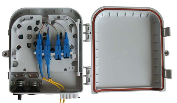 8Port FTB with SC/UPC adapter 8Port FTB Fiber Termination Box(FTB) FTTx  / FTTH Solutions