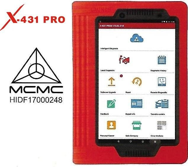 X-431 PRO (V.3.0) Scanner Supplier, Suppliers, Supply, Supplies  ~ Beta Equipments Trading Sdn Bhd