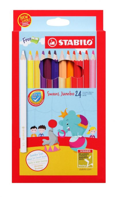 STABILO JUMBO 24 LONG(ART NO:1879J)
