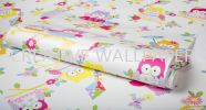 100115 Olive the Owl Wallpaper Roll Shot G & B - Kids @ Home - 2017 Germany Wallpaper - Size: 53cm x 10m