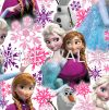 101394 FROZEN ANNA, ELSA AND OLAF PINK SHIMMER G & B - Kids @ Home - 2017 Germany Wallpaper - Size: 53cm x 10m