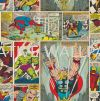 70-264 MARVEL COMIC STRIP G & B - Kids @ Home - 2017 Germany Wallpaper - Size: 53cm x 10m